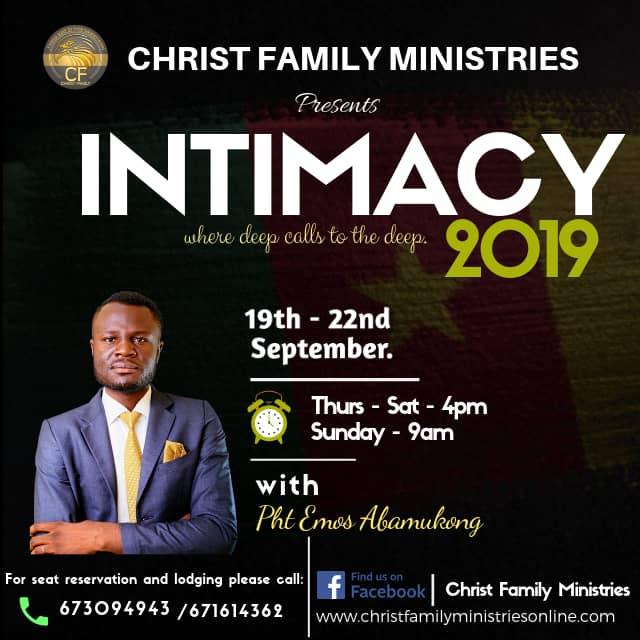 Intimacy 2019