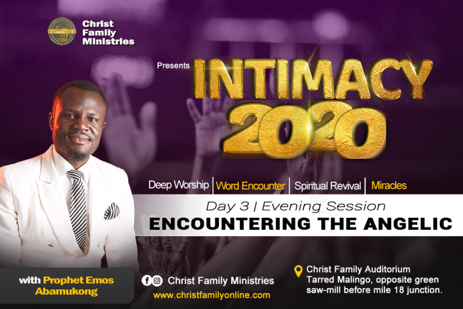 INTIMACY 2020 Day 3, Evening Session   Encountering the Angelic